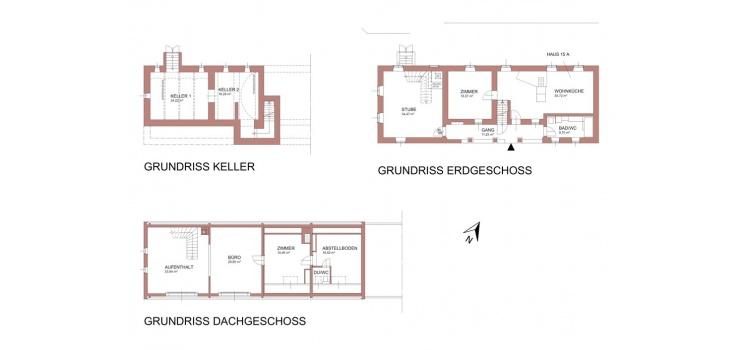 Grundriss Haus 15-A