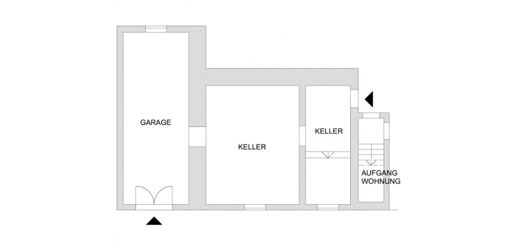 Plan Garage/Keller