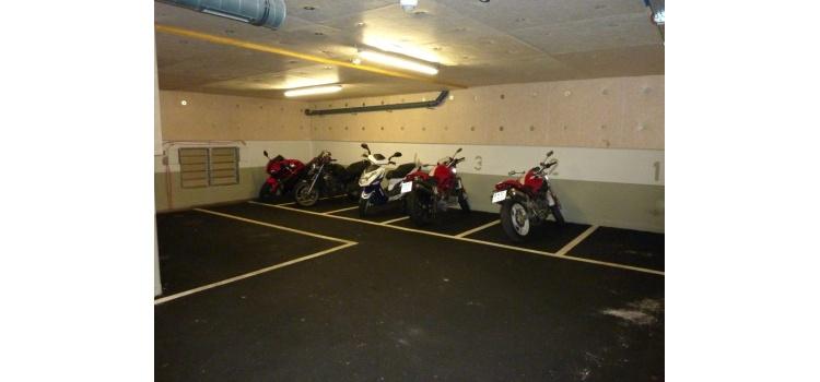 Motorradplatz