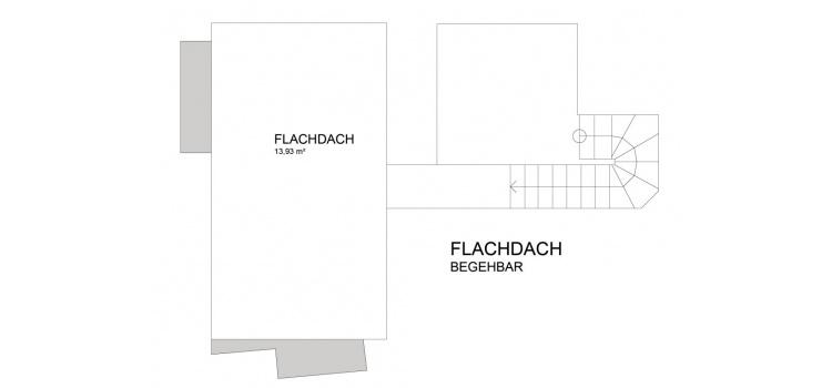Plan Flachdach