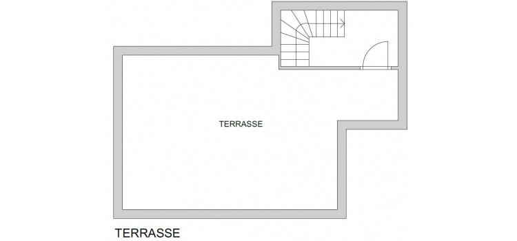 Plan Dachterrasse
