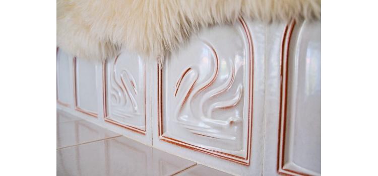 Kachelofen Detail