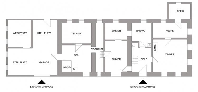 Haupthaus EG