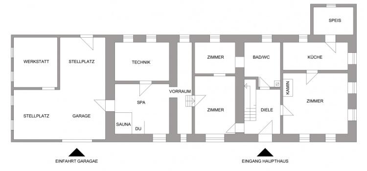 Hauptgebäude EG