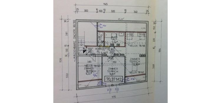 Skizze Etage DG