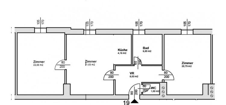 Plan 3 Zimmer