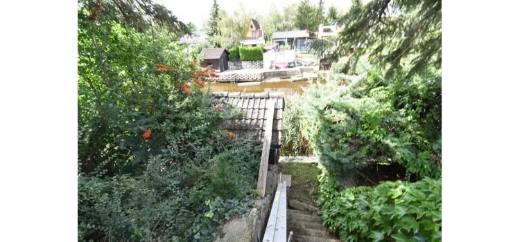 Zugang Teich