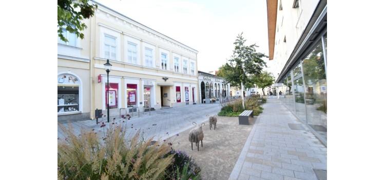 Baden Fußgängerzone
