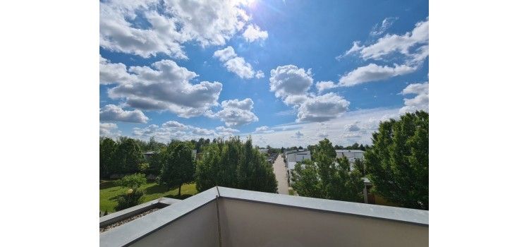 Aussicht Terrasse WG